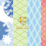 Vải hoa văn nhật bản Japan pattern