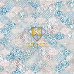 Vải hoa văn Retro pattern