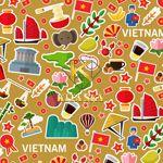 Vải hoa văn Việt Nam