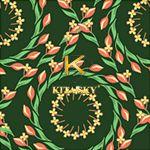 Vải hoa văn Wreath pattern