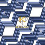 Vải hoa văn zigzag pattern