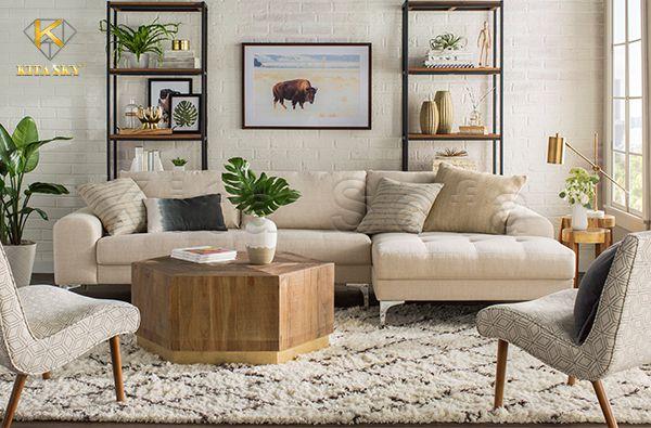 Sửa chữa bọc lại ghế sofa góc L chuyên nghiệp giá rẻ tại xưởng