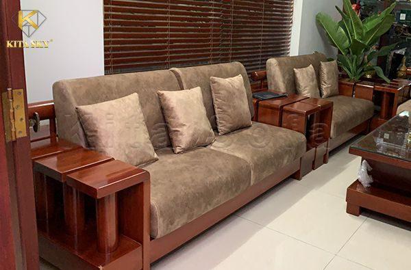 Xưởng đóng sofa nỉ nhung, đóng sofa vải bố uy tín - chất lượng