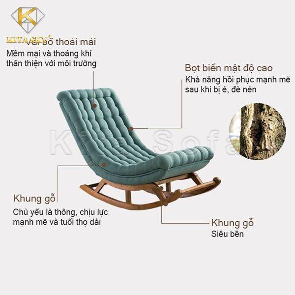 Ghế nằm thư giãn Kita Sofa là sự lựa chọn hoàn hảo cho gia đình bạn với nhiều tính năng ưu việt
