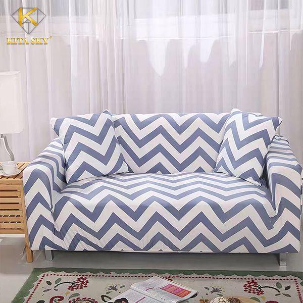 Vải bọc sofa giá rẻ hoa văn sọc kẻ xinh không thể tả