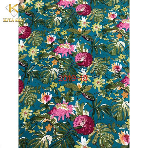 Kho mẫu vải họa tiết đẹp, ấn tượng tại Kita luôn là nơi khiến khách hàng mê đắm