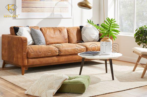 Sofa băng - Vẻ đẹp vượt thời gian bắt nguồn từ sự tối giản