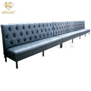 Sofa băng karaoke dài rút nút K57