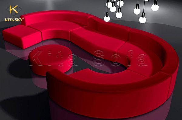 Sofa karaoke đẹp với form dáng độc đáo