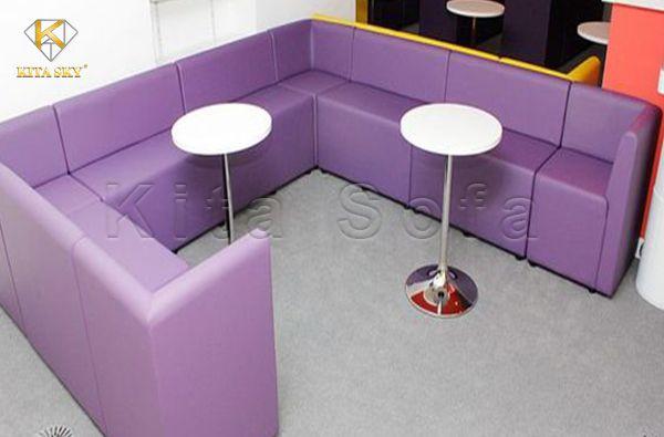 Sofa karaoke giá rẻ hình dạng chữ U cách điệu