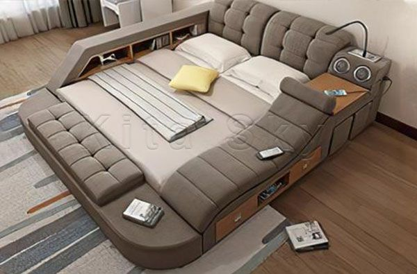 Giường ngủ kèm ghế tình yêu