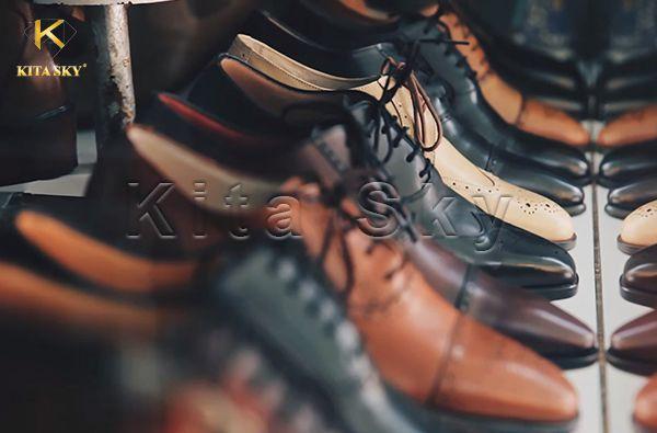 Vải giả da pvc làm giày dép