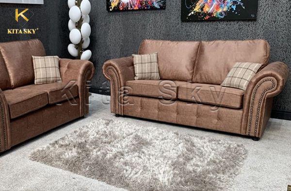 Vải giả da pvc bọc ghế sofa