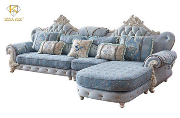 Sofa góc bọc vải