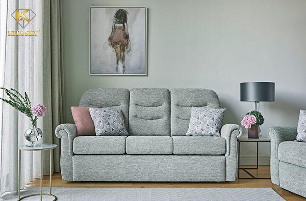 Sofa vải bố hay sofa bọc vải thô