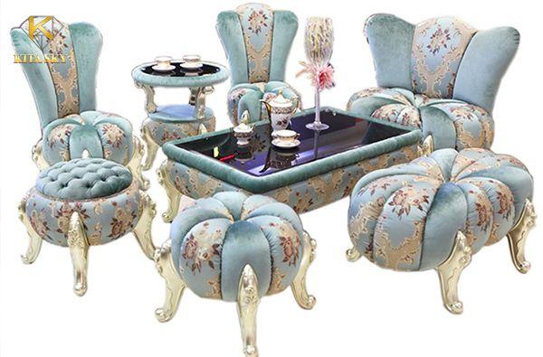 Sofa vải kiểu dáng độc lạ dành cho những ai có gu thẩm mỹ rất riêng và muốn không gian của mình là độc nhất